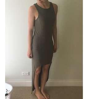Bardot Olive Dress