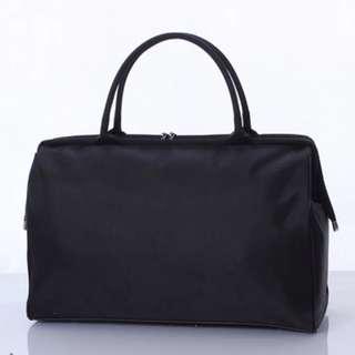 Pure Bold Black Travel / Gym Tote Bag
