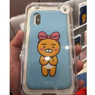 <韓國製造> Kakao Friends  - Ribbon Ryan iPhone X 手機殼