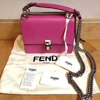 Fendi Kan I Small E5 桃粉紅色 (19cm)