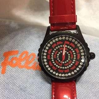 100% New Folli Follie Watch 聖誕禮物