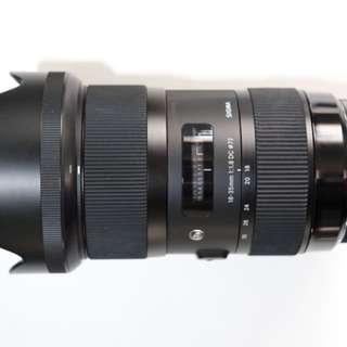Sigma 18-35 F1.8 DC (Canon Mount)