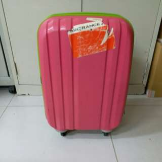 4 Wheels Luggage Size H 20inch W13 inch hand carry size