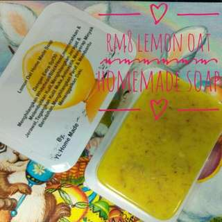 Lemon Oat Made Home Soap