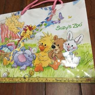 超可愛的紙袋