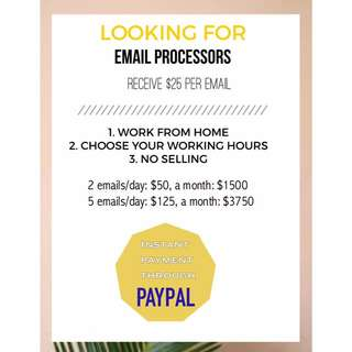 Email processes needed!