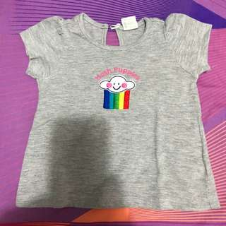 Hush puppies t shirt size 12-18 months