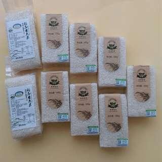多利農莊優質有機米真空包裝共9件