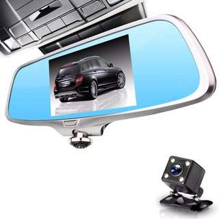 360 view car camera system DV-H2 car front and rear camera dvr hd1080p video recorder