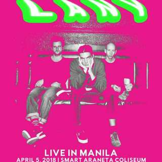 LOOKING FOR: 1 LANY VIP STANDING AND 1 PATRON A/B TICKET
