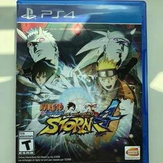Naruto Shippuden: Ultimate Ninja Storm 4 for PS4