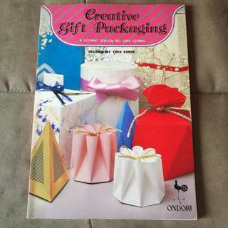 Creative Gift Packaging Book