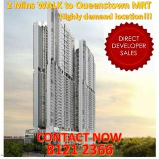 🌟ONE CHANCE, NEWEST Condo at Queenstown NEAR MRT, THIS LOCATION has a history of record-breaking 1 million HDB, PROVEN hot-favourite location, 4 stops away from CBD area and potential investment opportunity just for you! Why wait?🌟
