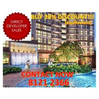 ‼️BUY at 20%+ discounted price for this CONDO! Maximise your wealth and investment, only EXCLUSIVE for SINGAPOREANS, Definite PROVEN Market reports, FIND OUT IF YOU ARE ONE OF THEM NOW!‼️