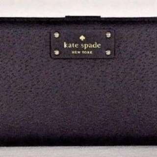 Kate Spade Wallet 黑色長銀包(全新未使用)