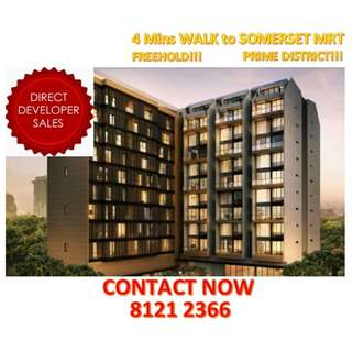 🌟LUXURY FREEHOLD Condominium at PRIME CENTRAL LOCATION, 4 MINS WALK to Somerset MRT, SHORT DRIVE to the CBD, Have the best of both worlds; Work and Entertainment, YOUR CHANCE STARTS NOW TO BE PART OF LIVING LUXURIOUSLY! 🌟