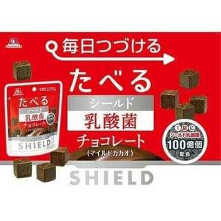 日本森永乳酸菌巧克力