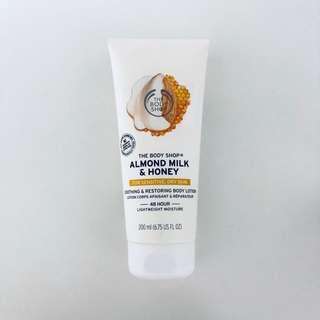 Almond milk & honey body lotion
