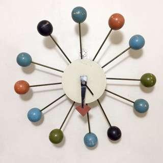 Vintage Retro 1960s Wall Clock