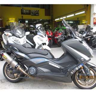 Yamaha Tmax 530 iron 2016 D/P $2500 or $1500 (Terms and conditions apply)Pls Call  67468582 De Xing Motor Blk 3006 Ubi Road 1 # 01-356 S 408700.
