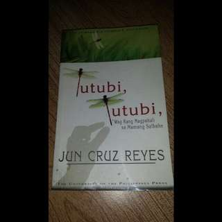 Tutubi, Tutubi by Jun Cruz Reyes (UP Press)