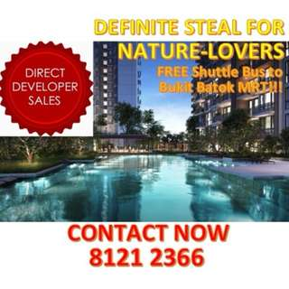 🌟DEFINITE STEAL for Nature-lovers, UPCOMING MIXED DEVELOPMENT CONDO FOCUSES ON TRANQUILITY AND GREENERY! Peaceful and humble location at the heartlands of Bukit Batok!🌟