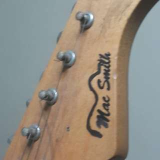 Mac smith Stratocaster red