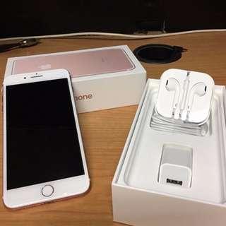 Apple iPhone 7 plus 32GB Rose Gold 3months old_100% original