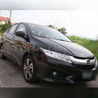 Car rental Honda City