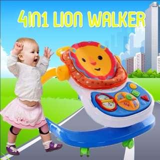 NEW 4 IN 1 BABY WALKER