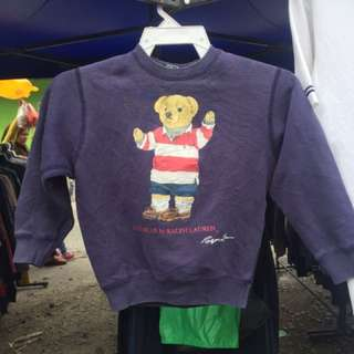 Sweatshirt polo bear RL
