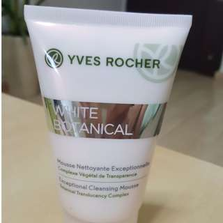 [New] Yves Rocher White Botanical Exceptional Cleaning Mousse