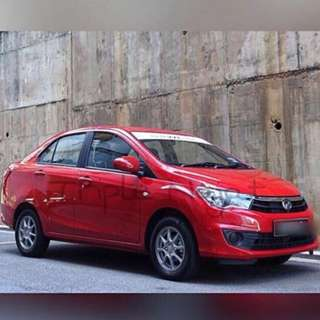 Car rental for Grab Perodua Bezza