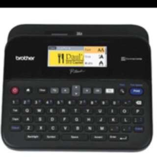 Brother printer PT-D600 PC-Connectable P-touch Label Maker with Color Display