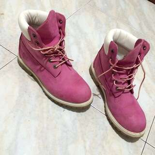 TIMBERLAND BOOTS - Old Rose