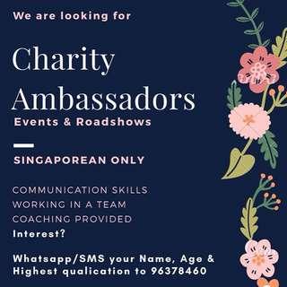 Charity Ambassadors