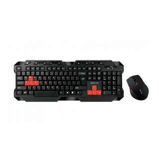 Astrum Wireless Keyboard + Mice Combo Black