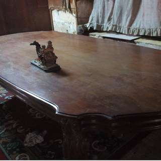 Repriced: Pure Narra 8 Seater Dining Set
