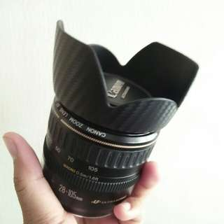 Lens canon 28-105mm