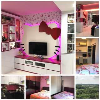 Just 5yrs old Nicely Renovated 4-room in Punggol