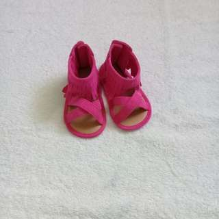 Pink Sandals for Baby Girl