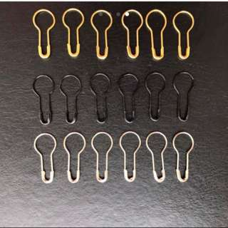 25pcs hijab pins for delicate fabrics