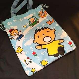 大寶可愛縮口提袋
