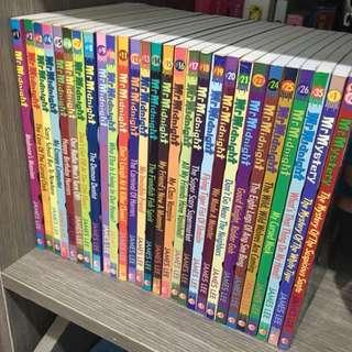 Mr Midnight/Mystery Books