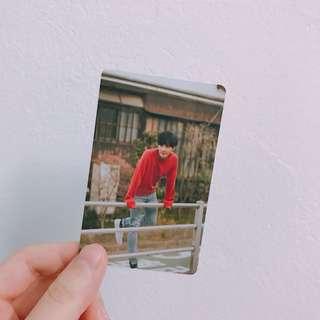 EXO Lay Birthday Photocard