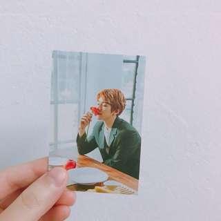 EXO Baekhyun Birthday Photocard