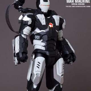 Hot Toys: Iron Man 2 War Machine (Milk Special Version)