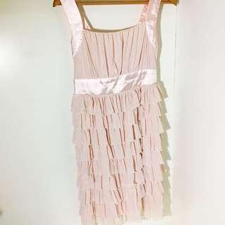 DCT 嬰兒粉千層洋裝