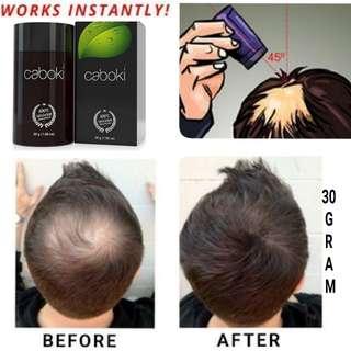 Hair Loss  building fiber 30gram black