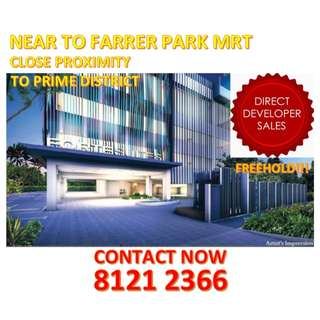🌟TOP OBTAINED!! YOUR CHANCE to IMMEDIATELY GRAB: FREEHOLD Condo near FARRER PARK MRT, HIGHLY DEMANDED LOCATION where it has endless choices to shopping and entertainment amenities and NOT FAR FROM the PRIME district of Novena/Orchard/Clarke Quay/CBD!🌟